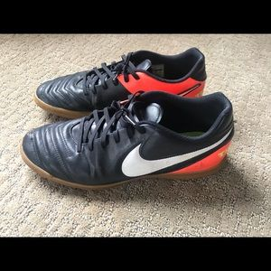 Nike soccer shoes.